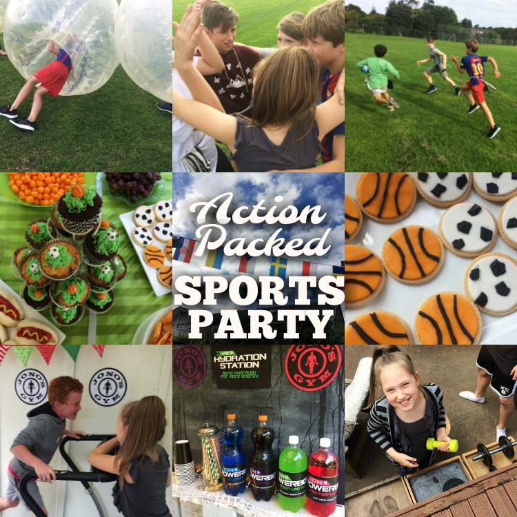 Action Packed Sports Birthday Party