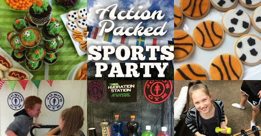 An Action Packed Sports Party - with Bubble Soccer