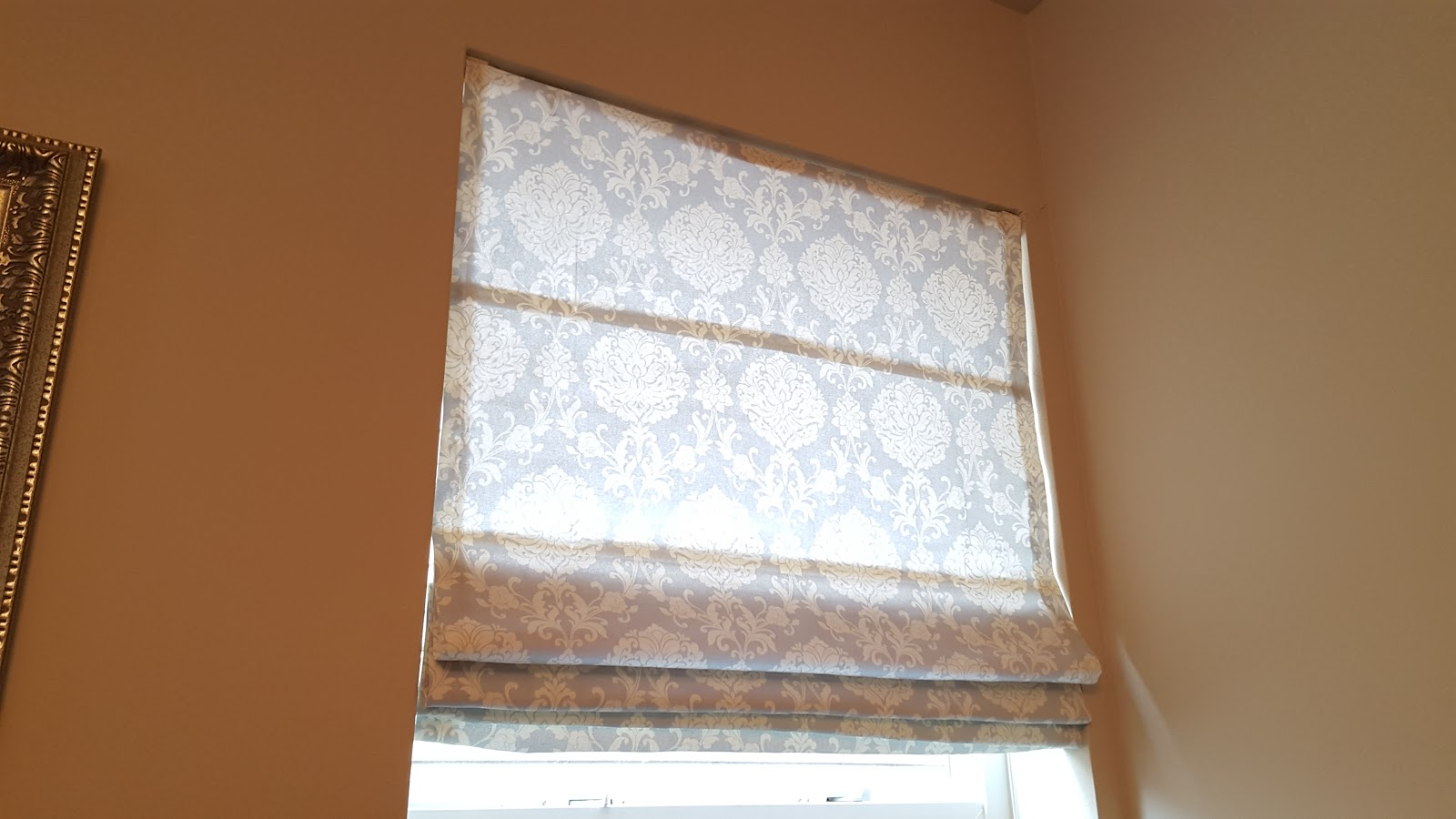 how to make roman blinds with dowels