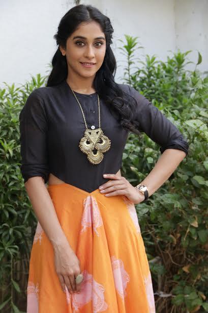 Regina Cassandra Latest Hot Press meet Stills at Maanagaram Movie