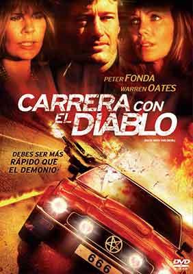 Carrera con el Diablo, carátula DVD