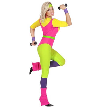 80s Aerobics Instructor Ladies