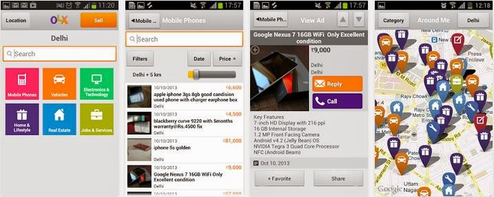 OLX App for Android and iOS, Best way to Buy and Sell using your