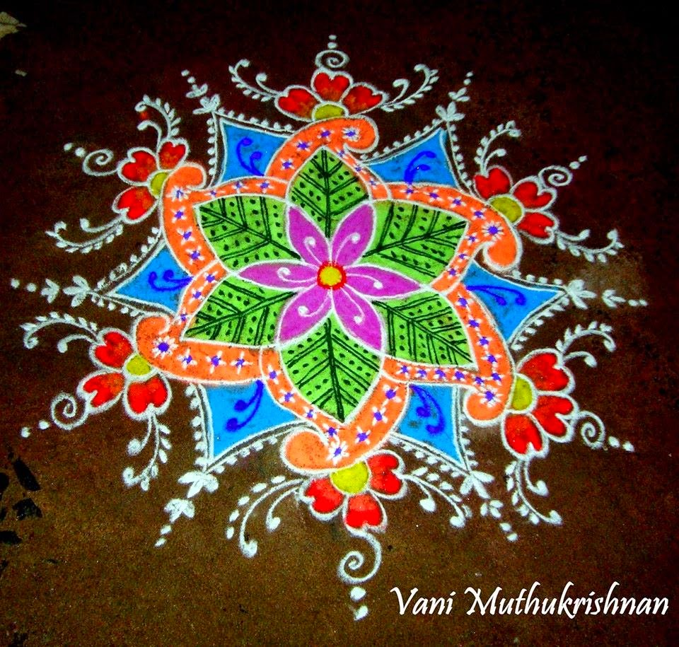Kolam Designs 45