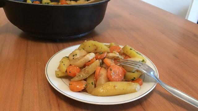 Mijoté de carottes pomme de terre et navets