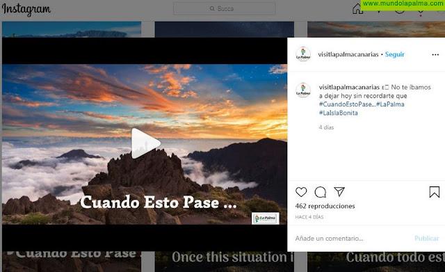 La Consejería de Turismo del Cabildo potencia la campaña #CuandoEstoPase en sus perfiles en Redes Sociales