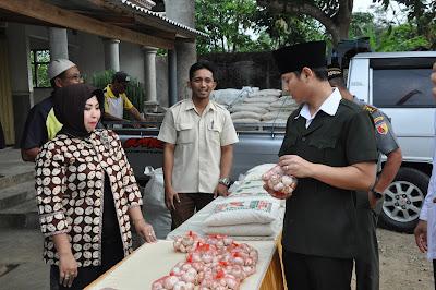 TPID dan Bulog Gelar Operasi Pasar di Lokasi Safari Ramadhan