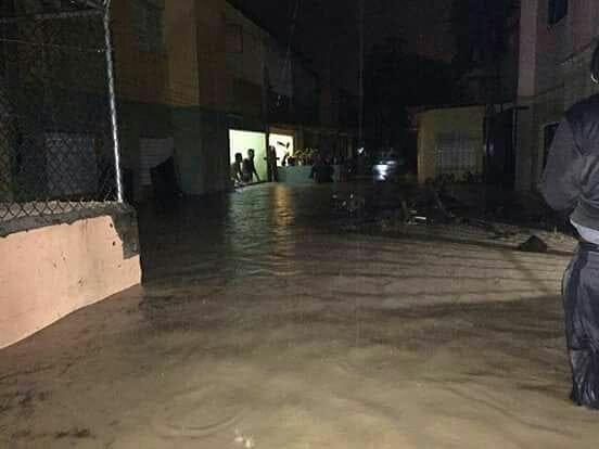 Se inunda Puerto Plata