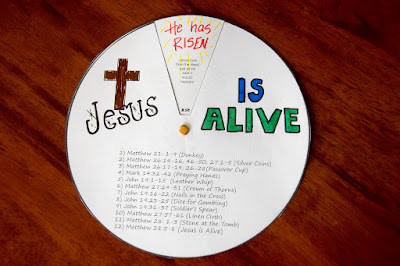 resurrection eggs craft wheel