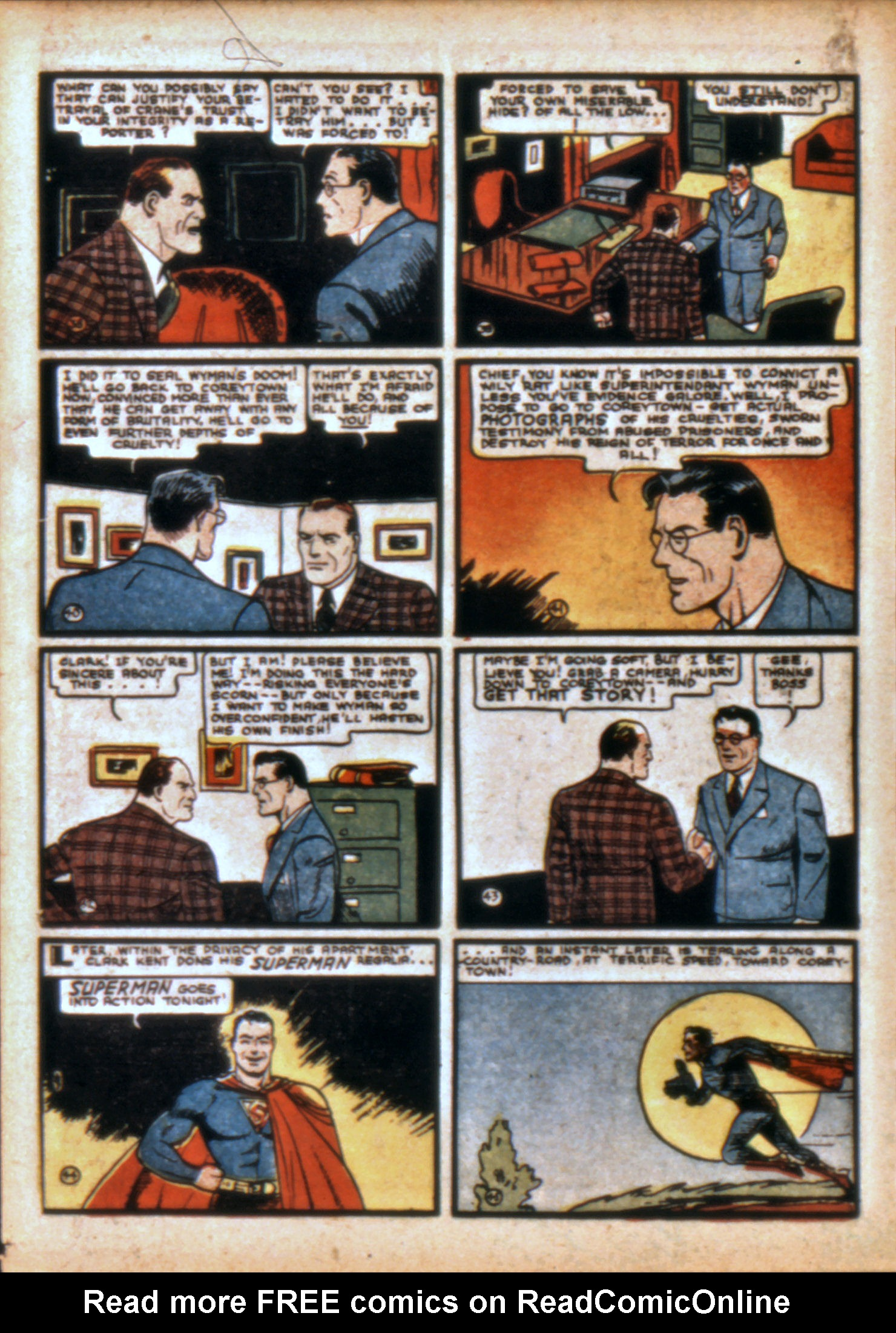 Action Comics (1938) 10 Page 8