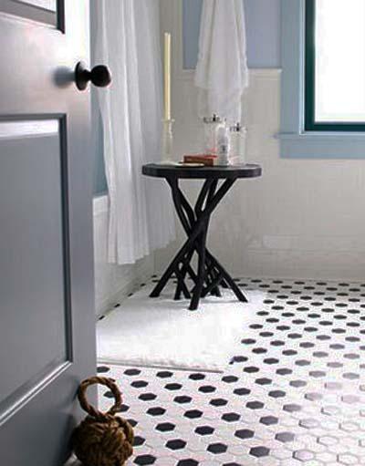 lulu belle design black tile. Black Bedroom Furniture Sets. Home Design Ideas