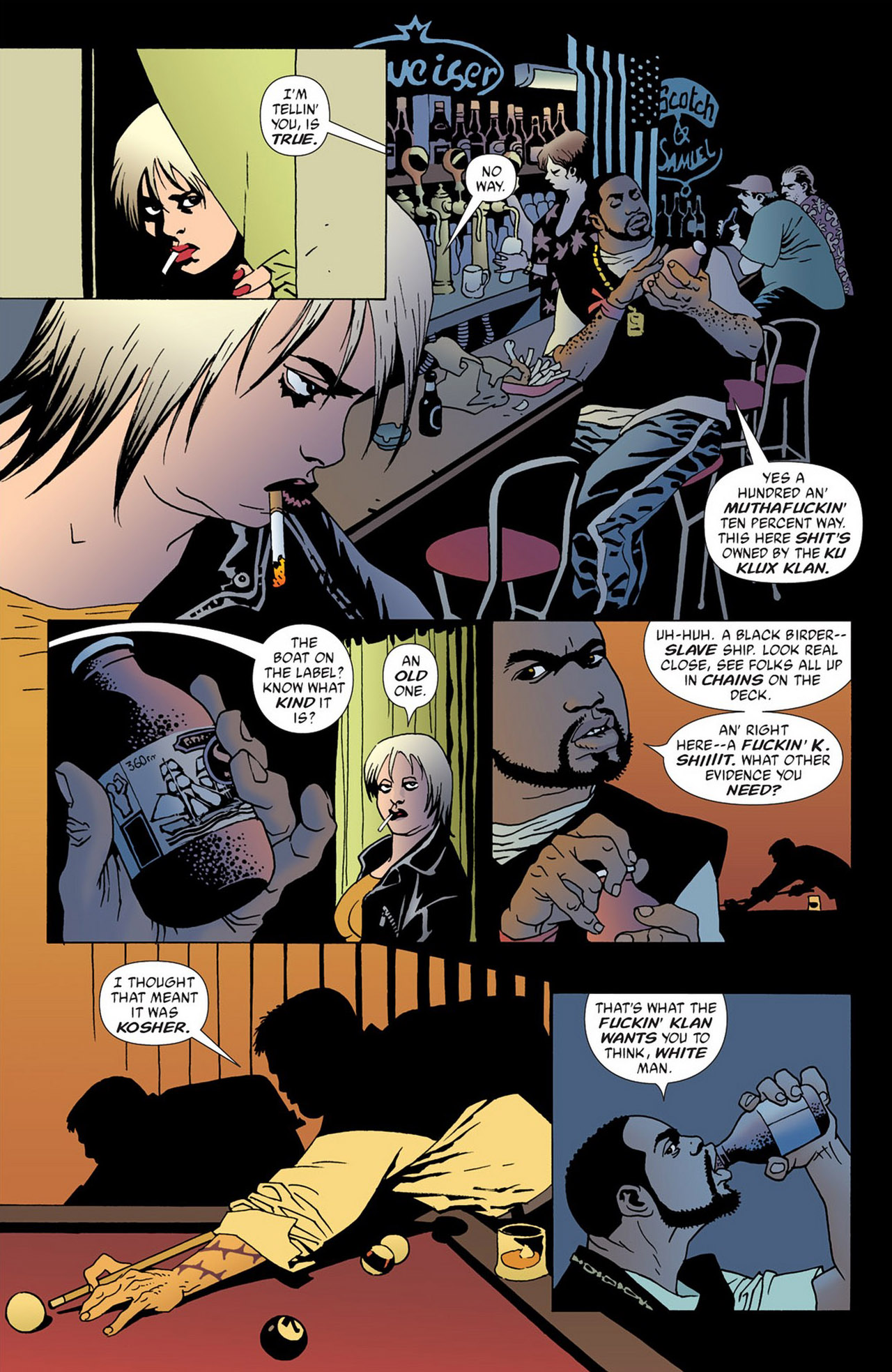 Read online 100 Bullets comic -  Issue #50 - 2