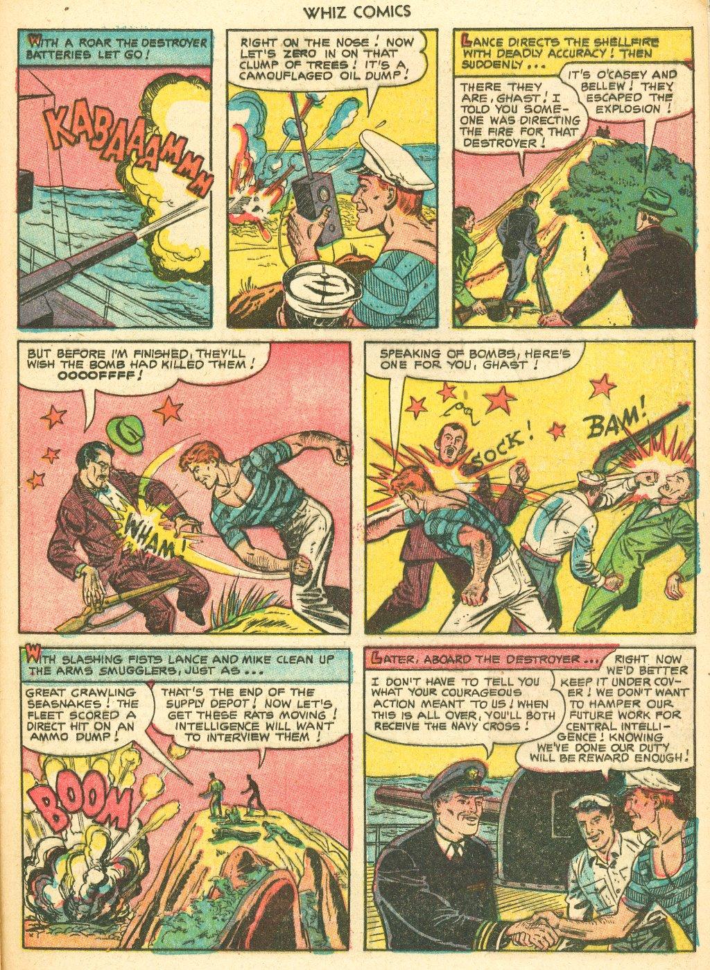 WHIZ Comics #155 #156 - English 21