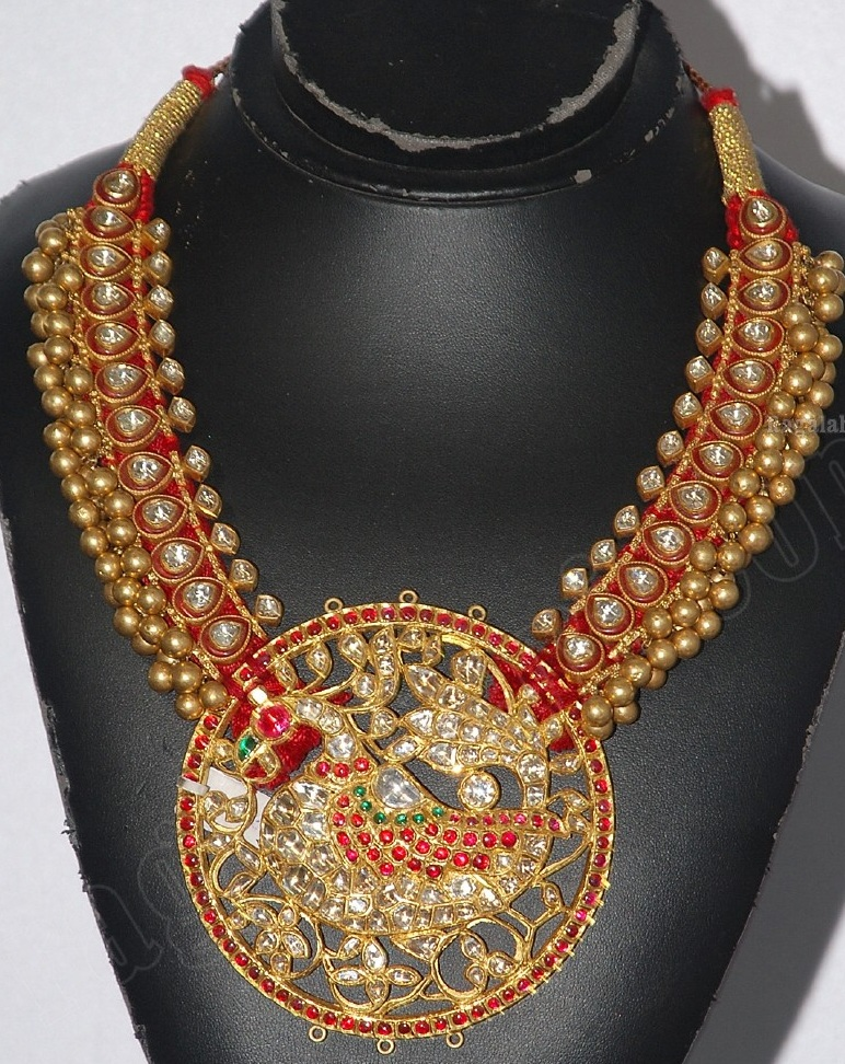 Indian Jewellery And Clothing Antique Finish Kundan