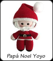 Papá Noel yoyo