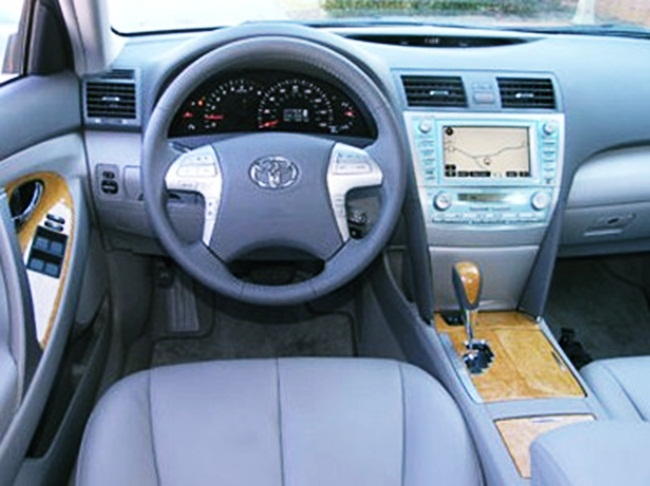 2007 Toyota Camry Xle V6 Owners Manual