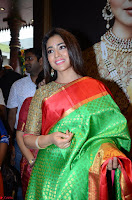 Shriya Saran Looks Stunning in Silk Saree at VRK Silk Showroom Launch Secundrabad ~  Exclusive 033.JPG