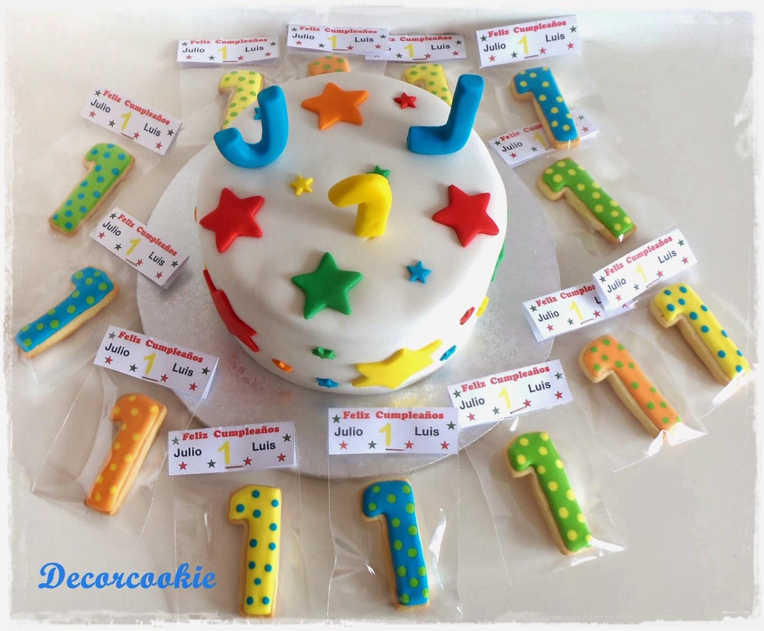 Galletas Decoradas Decorcookie Tarta Y Galletas Para Un