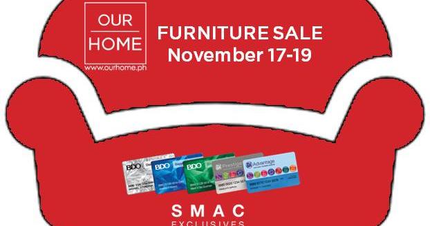 Manila Shopper Our Home 3 Day Furniture Sale Nov 2017