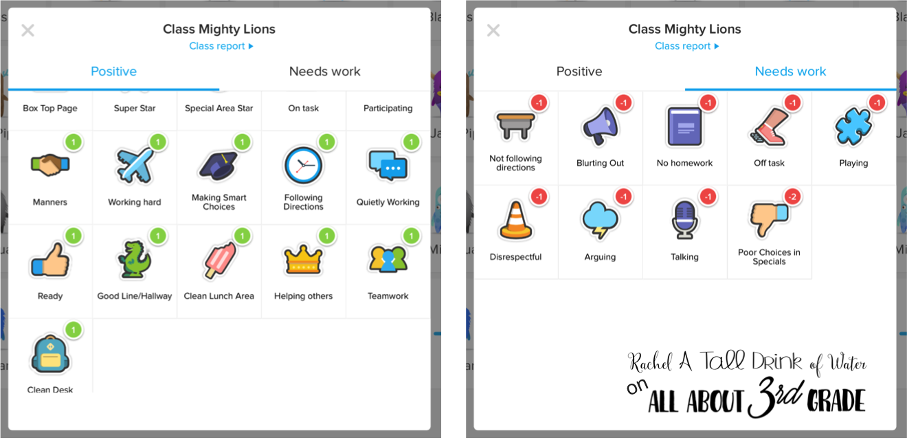 Using Class Dojo for Behavior Management | All About 3rd Grade