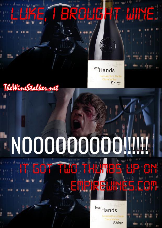Darth Vader just won't quit.