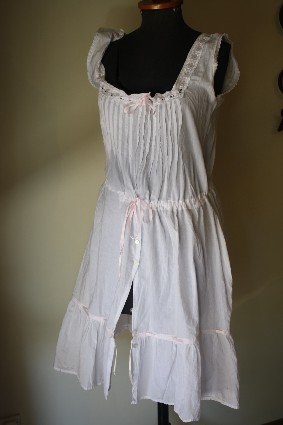 bb0dc010f1a1 So if you need some historical undergarments, keep an eye out in your local  op-shop for a granny nightie!