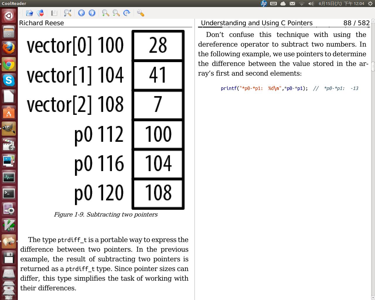 在Ubuntu Linux 中安裝與使用Cool Reader 3 電子書閱讀軟體