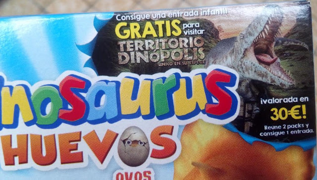 entrada infantil gratis dinopolis dinosaurus