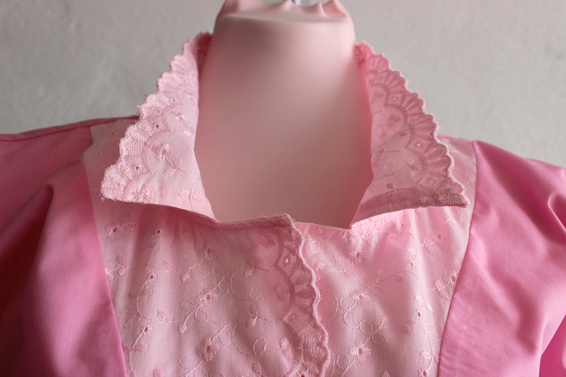 Stretch Viscosa Jersey círculo Floral print-black//ivory-Vestido fabric-free de envío