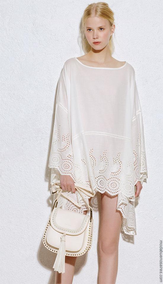 Moda 2018 túnicas. Moda ropa de mujer verano 2018.