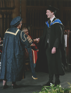 graduation, gown, hat, cap, suit, handshake, stage, cathedral