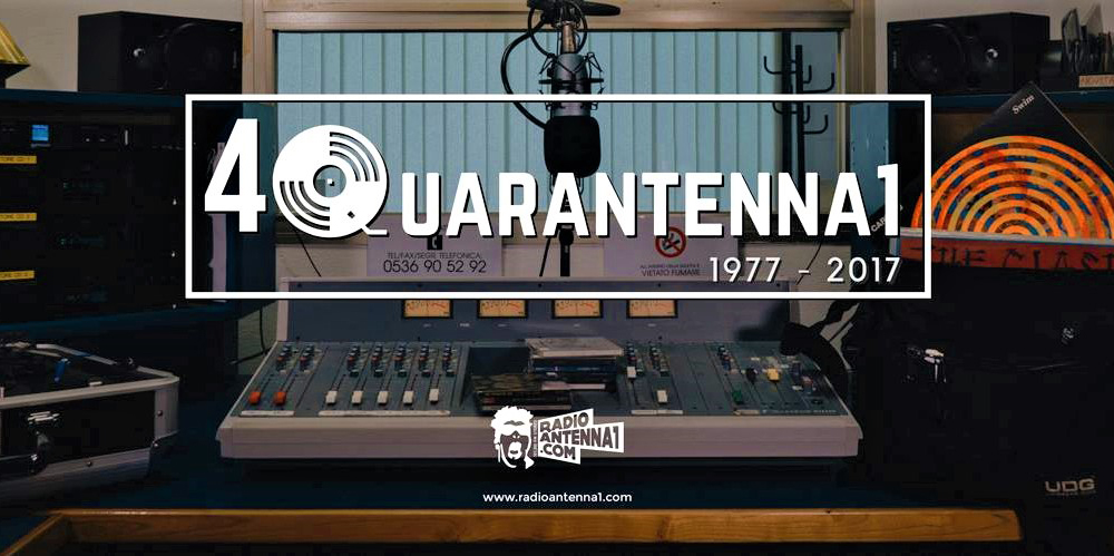 Quarantenna 1 Festival: i quarant'anni di Radio Antenna 1