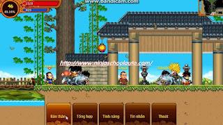 Cách cộng đồ phái kiếm ninja school online