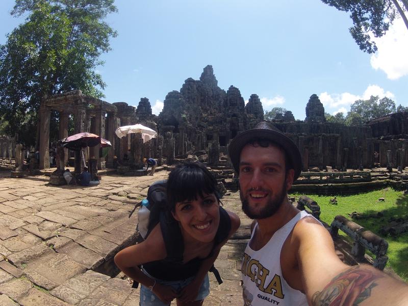 Bayon Angkor Thom Cielo Azul