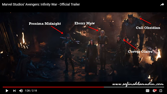 Review Penuh Movie Infinity War (Amaran : Spoiler Alert)