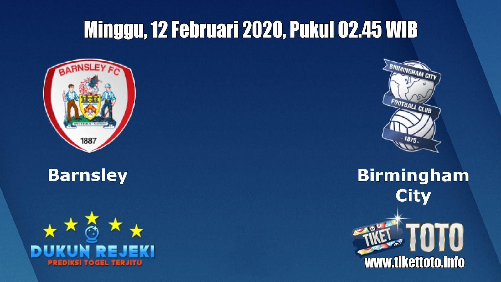 Prediksi Barnsley VS Birmingham City 12 Februari 2020