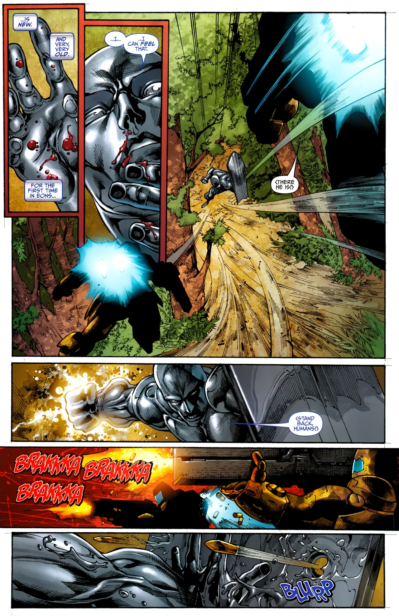 Read online Silver Surfer (2011) comic -  Issue #1 - 22