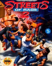 game android streets of  rage 2