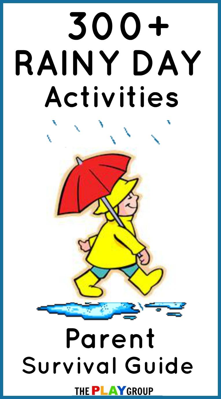 Family Fun 300 Rainy Day Activities