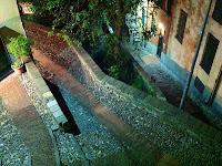 La salita che porta dalla Marina a Campo Pisano. Nel 1284 fu percorsa dai prigionieri pisani in catene - Per gentile concessione: Antonio Figari (isegretideivicolidigenova.com)