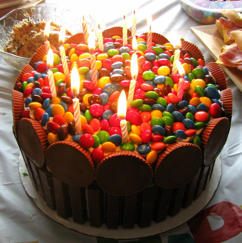 Easy Birthday Cake Ideas: At Home With April: Happy 15th Birthday J