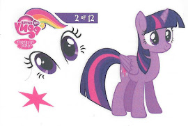 My Little Pony Tattoo Card 2 Series 3 Trading Card