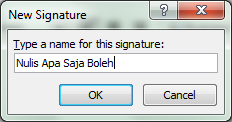 New Signatures