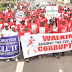 #TheEagle Nigerians Stage Massive Walk Against Corruption In Uyo, PH, Gombe, Kano -  Photos/Video