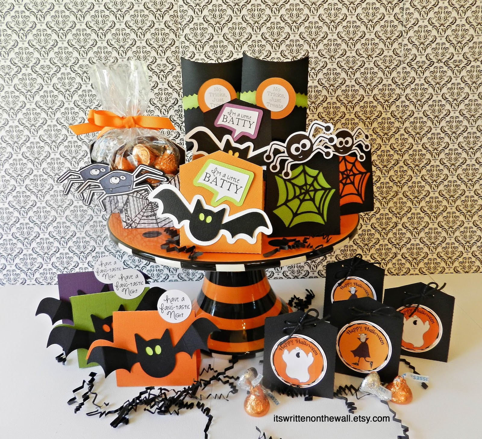 It\'s Written on the Wall: 6 Halloween Treat Boxes That Hold Just the ...