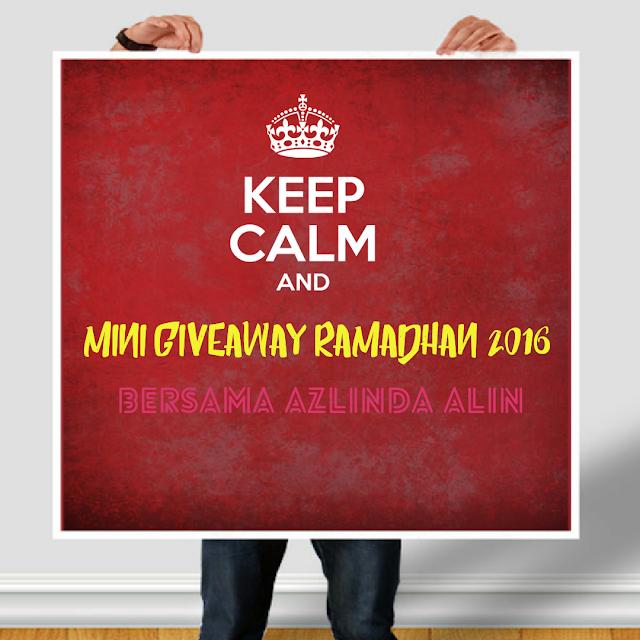 Mini Giveaway Ramadhan 2016