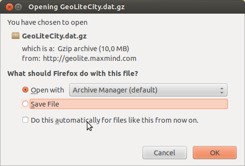 how to use geoip php