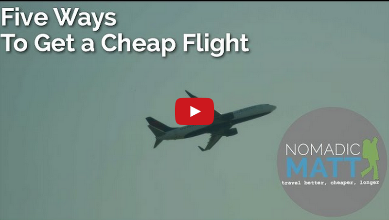 Five Ways to Find a Cheap Flight