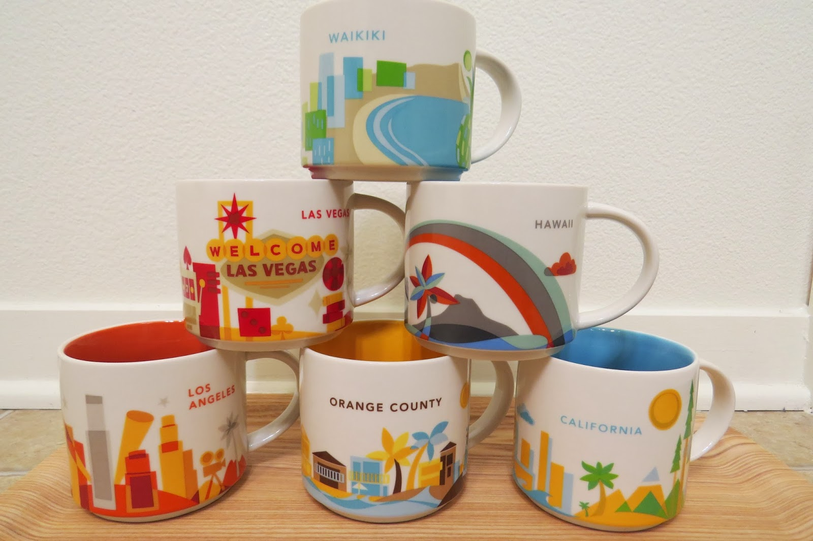 Starbucks You Are Here Collection Mugs | It has grown on me!