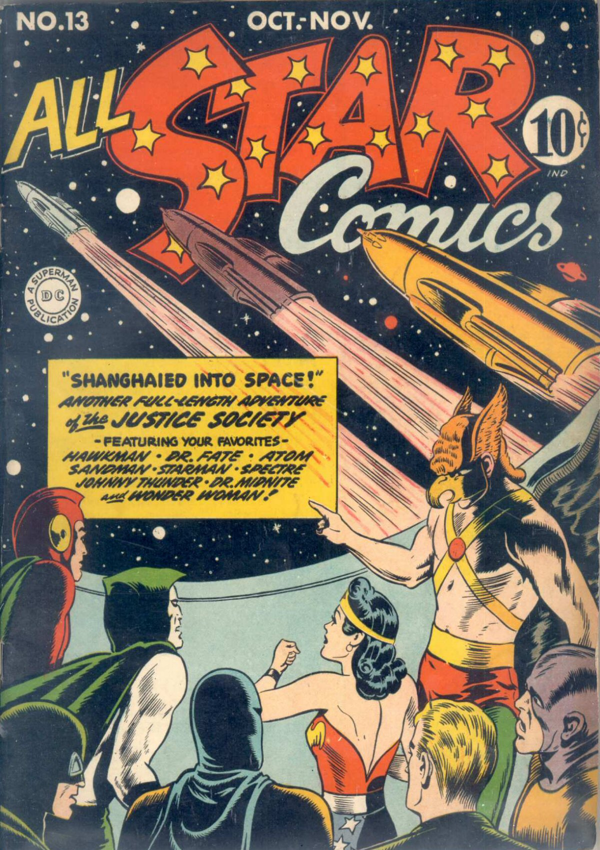 Read online All-Star Comics comic -  Issue #13 - 2